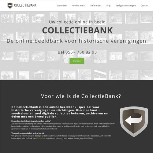 Collectiebank Mrs Website